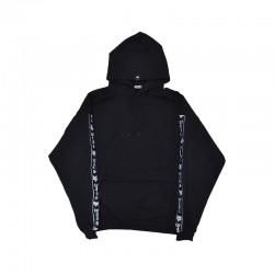Black oversized hoodie