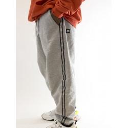 Gray Reflective Tape Pants