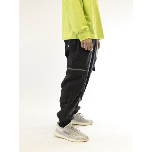 Cargo Waterproof Pants With Reflective Details