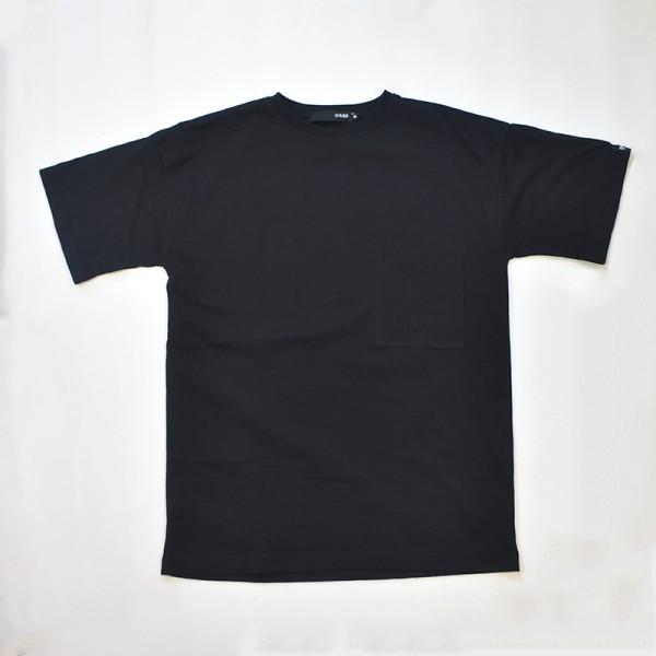 Black Oversized T-shirt With Back Unity Print