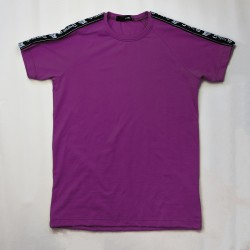 Purple tape tee
