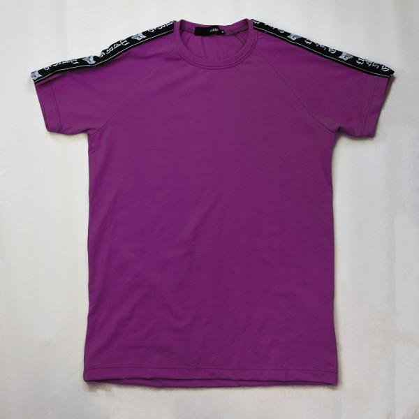 Purple tape tee