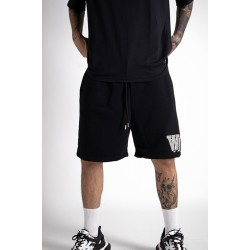 Black Shorts With Patch