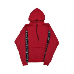 Red Super Oversized Hoodie