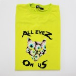 "Frozen Yellow T-Shirt ""All Eyez On Us"""