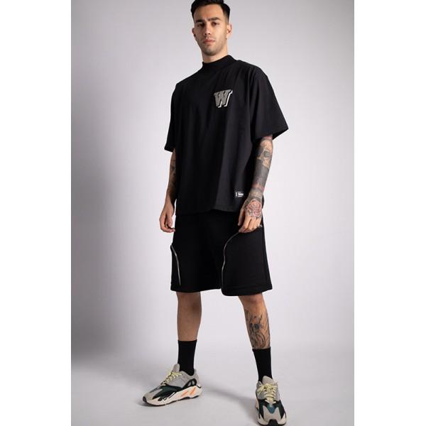 Black TurtleNeck T-Shirt