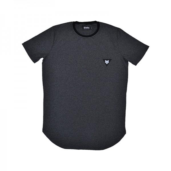 T-shirt dark grey classic