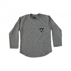 Warg cubs long sleeve classic t-shirt in grey